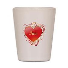 Ina Valentines Shot Glass