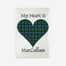Heart - MacCallum Rectangle Magnet