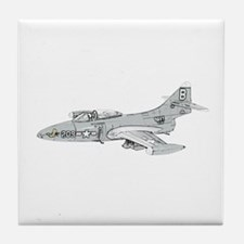 Grumman F9F Cougar Tile Coaster