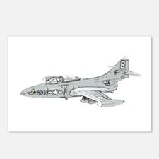 Grumman F9F Cougar Postcards (Package of 8)