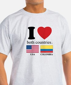 USA-COLOMBIA T-Shirt