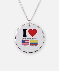 USA-COLOMBIA Necklace