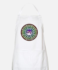 Yin-yang and I-Ching Light Apron