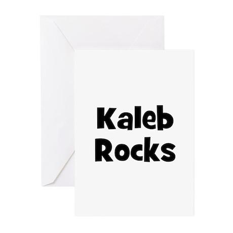 Kaleb Rocks Greeting Cards (Pk of 10)