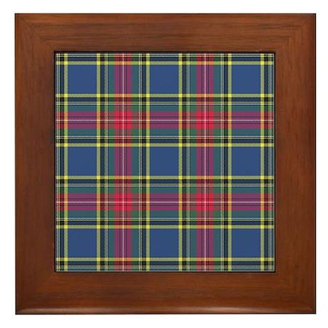 Tartan - MacBeth Framed Tile