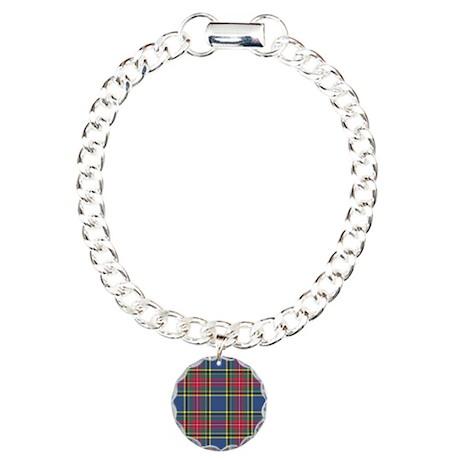 Tartan - MacBeth Charm Bracelet, One Charm