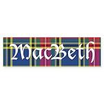 Tartan - MacBeth Sticker (Bumper 50 pk)