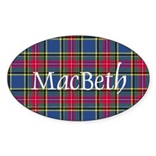 Tartan - MacBeth Decal
