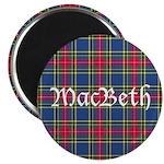 Tartan - MacBeth Magnet