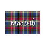 Tartan - MacBeth Rectangle Magnet (10 pack)