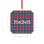 Tartan - MacBeth Ornament (Round)