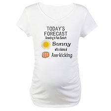 Castle Chance of Asskicking Maternity T-Shirt