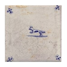 Running Fox Tile: Tile Coaster