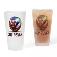 World Cup Fever Drinking Glass