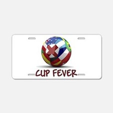 World Cup Fever Aluminum License Plate