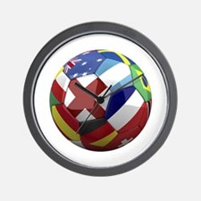 World Cup Fever Wall Clock