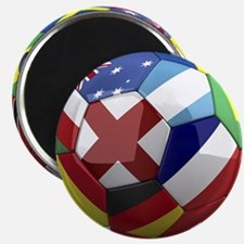 """World Cup Fever 2.25"""" Magnet (10 pack)"""