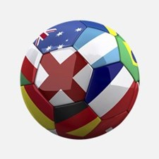 """World Cup Fever 3.5"""" Button (100 pack)"""