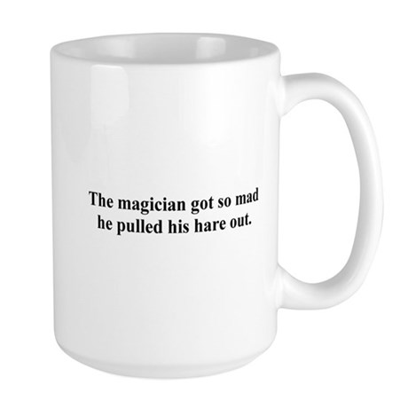 mad magician Large Mug