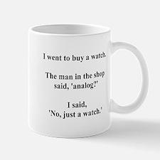 analog joke Mug