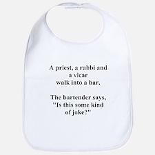 a bar joke Bib