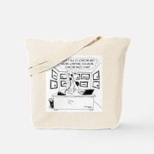 I Talk to Men, Not Women Tote Bag