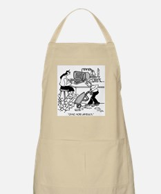 Oh No, More Lab Results Apron