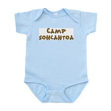 Camp Sohcahtoa Trigonometry Infant Bodysuit