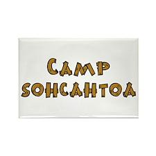 Camp Sohcahtoa Trigonometry Rectangle Magnet