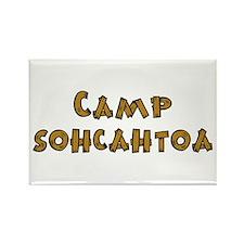 Camp Sohcahtoa Trigonometry Rectangle Magnet (10 p
