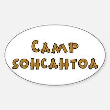 Camp Sohcahtoa Trigonometry Decal