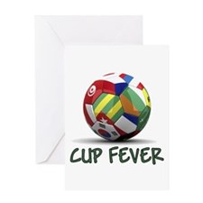 World Cup Fever Greeting Card