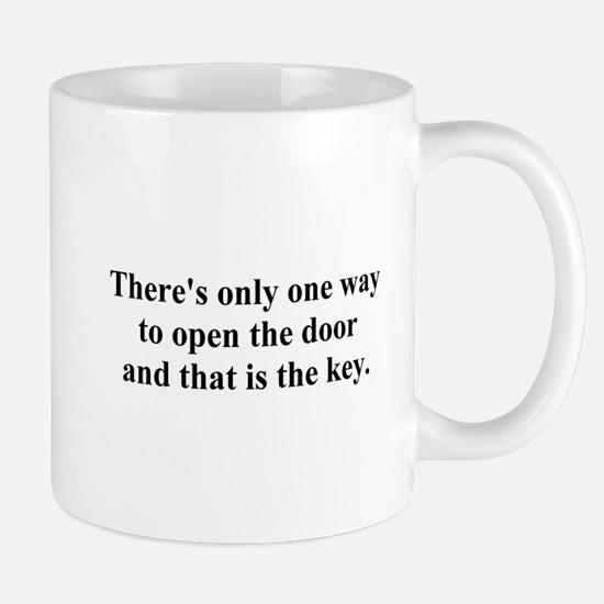 open the door Mug