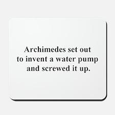 archimedes Mousepad