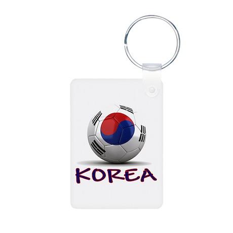 Team South Korea Aluminum Photo Keychain
