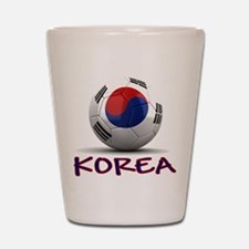 Team South Korea Shot Glass