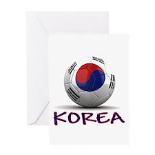 Team South Korea Greeting Card