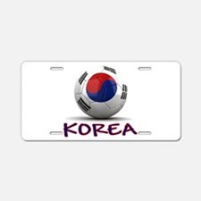 Team South Korea Aluminum License Plate