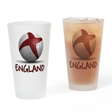 Team England Drinking Glass