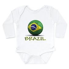 Team Brazil Long Sleeve Infant Bodysuit