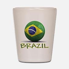 Team Brazil Shot Glass