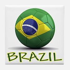 Team Brazil Tile Coaster