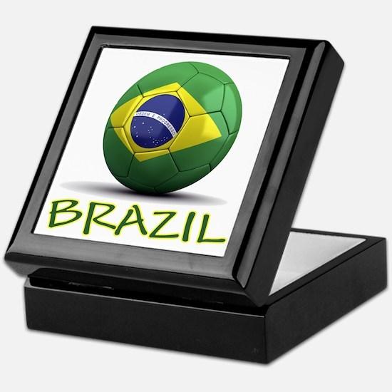 Team Brazil Keepsake Box