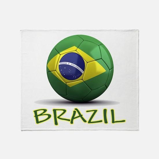 Team Brazil Throw Blanket