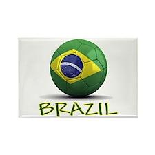 Team Brazil Rectangle Magnet