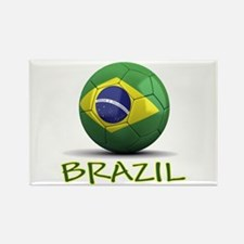 Team Brazil Rectangle Magnet
