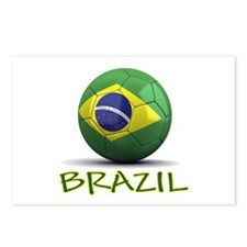 Team Brazil Postcards (Package of 8)