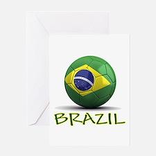 Team Brazil Greeting Card