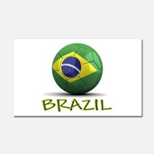 Team Brazil Car Magnet 20 x 12