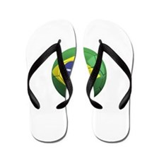Team Brazil Flip Flops